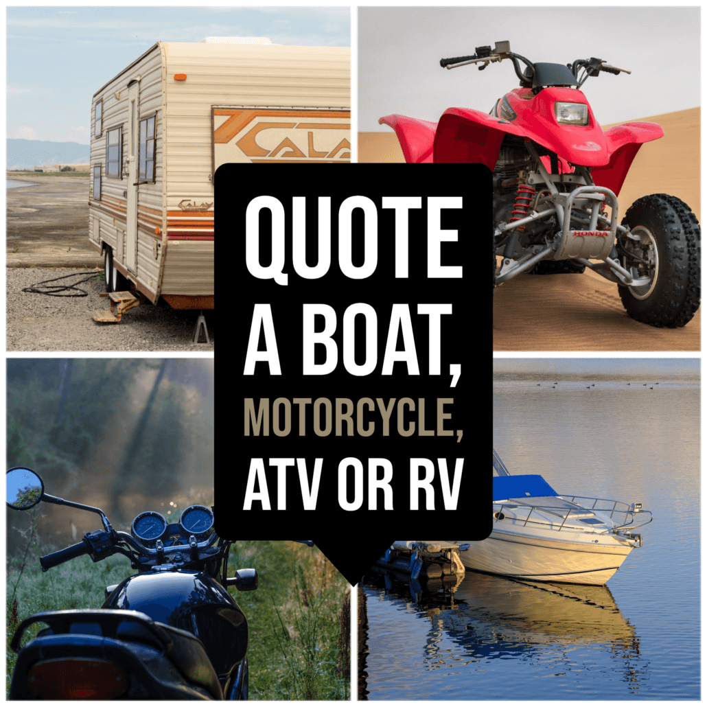 Boat Motorcycle RV Quotes Spokane