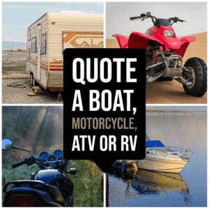 Boat Motorcycle RV Quotes Spokane